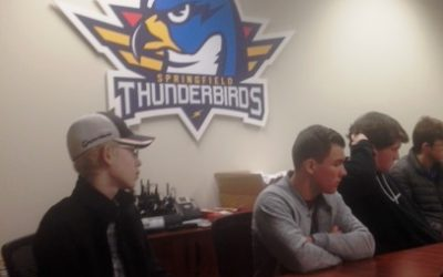 Springfield Thunderbirds Host  New JA Company Program