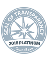 Seal of Transparency 2018 Platinum Award