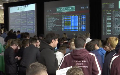Western Massachusetts high school students experience mock stock market